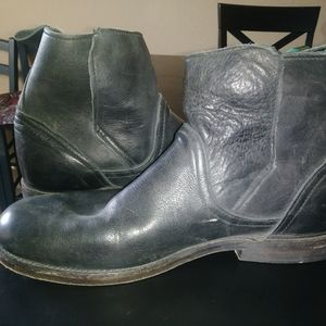 Vintage-Brand Men's Leather Ankle Boots